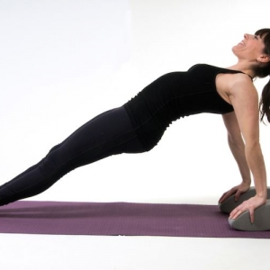 YogaFit Egg Pose Of The Month - April 2014