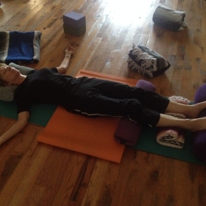 Restorative Pose Of The Month (Sept) - Savasana