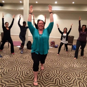 Yogis Unite in Arlington, Virginia: