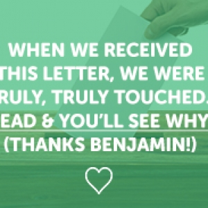 A Letter from Benjamin | Warriors