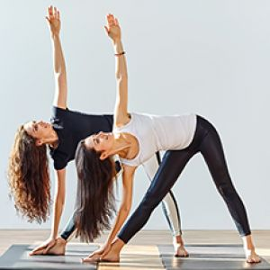 POSE OF THE MONTH: Triangle Pose