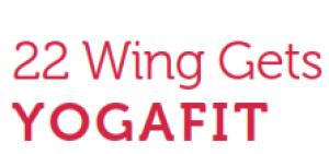 22 Wing Gets YogaFit