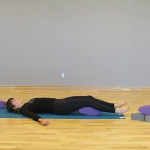 YogaFit Egg Pose Of The Month - December 2013