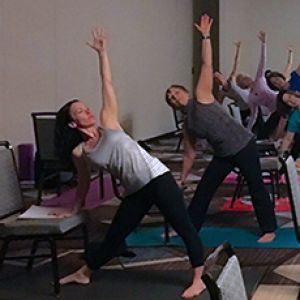 Teacher's Notebook: Yoga Chair Sequence
