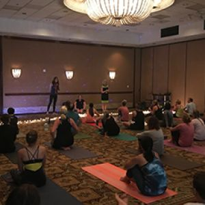 IN THE NEWS: YogaFit teachers and students hit the mat for charity