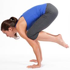 teacher's notebook crow pose  yogafit yoga teacher training
