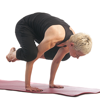 pose of the month crow pose  yogafit yoga teacher training