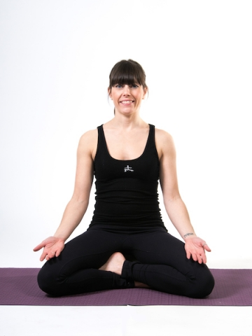 YogaFit Egg Pose Of The Month - June 2014