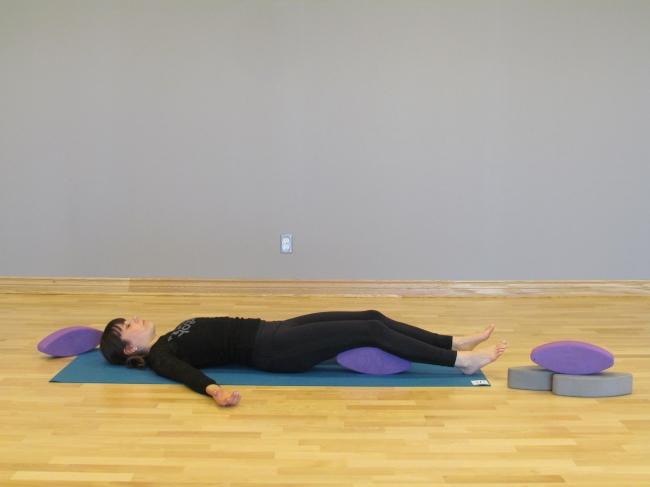 YogaFit Egg Pose Of The Month - December 2013