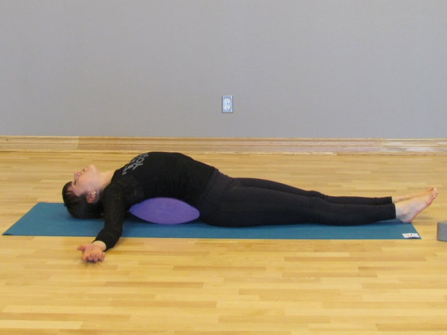 YogaFit Egg Pose Of The Month - February 2014