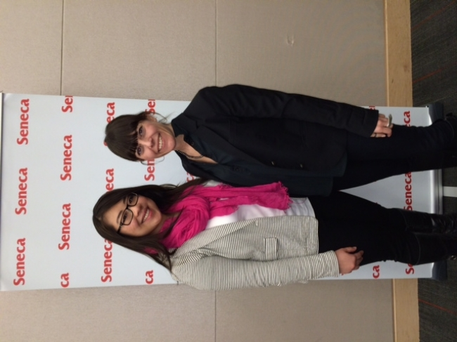 Nominees for Mentor and Student of the Year for Seneca College Co-op Program
