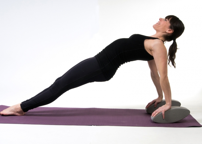 YogaFit Egg Pose Of The Month - April 2014