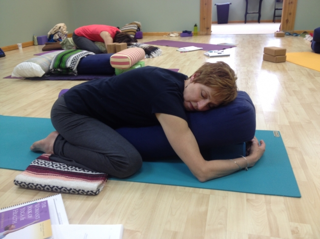 Restorative Pose Of The Month - Child's pose (Balasana)