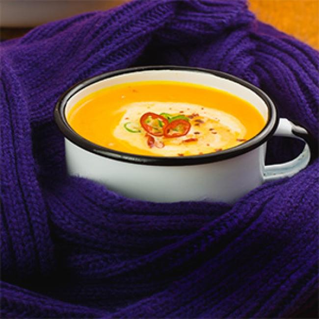 YogaLean Recipe: Butternut Squash Soup