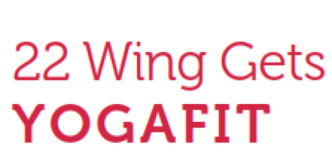 22 Wing Gets YogaFit