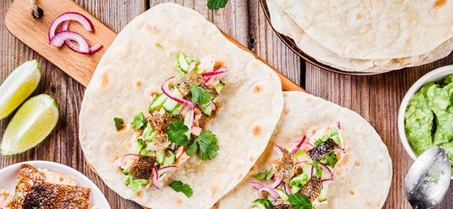 YogaLean Recipe: Salmon Tacos