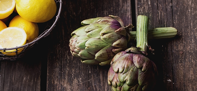 YogaLean Recipe: Lemon Garlic Artichoke Salad