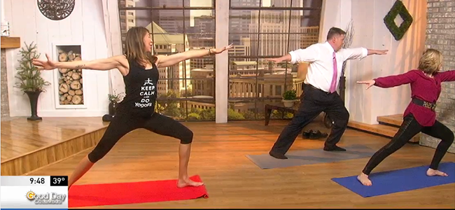 The YogaFit Athlete - on TV & SELF.com