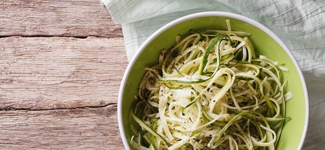 YogaLean Recipe: Zucchini Fettuccini