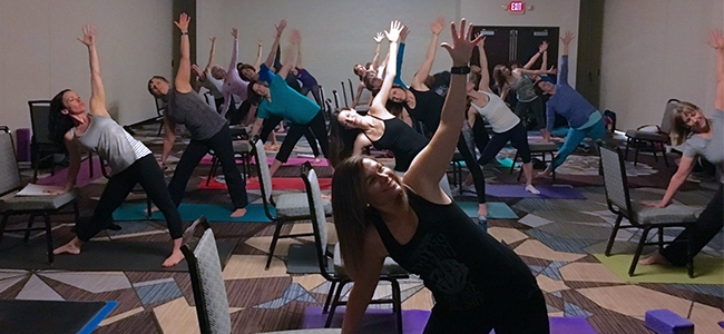 Teacher's Notebook: Yoga Chair Sequence