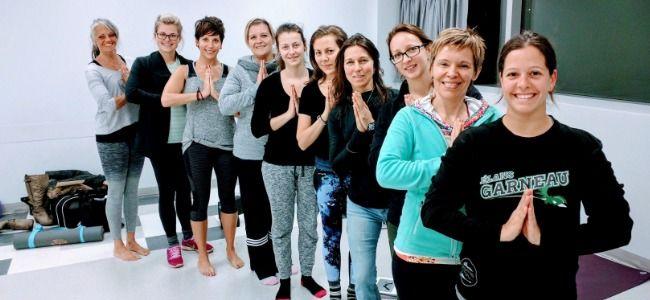Je suis YogaFit : Nathalie Jobin
