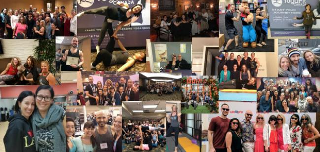 Team YogaFit Canada Reflects on 2017