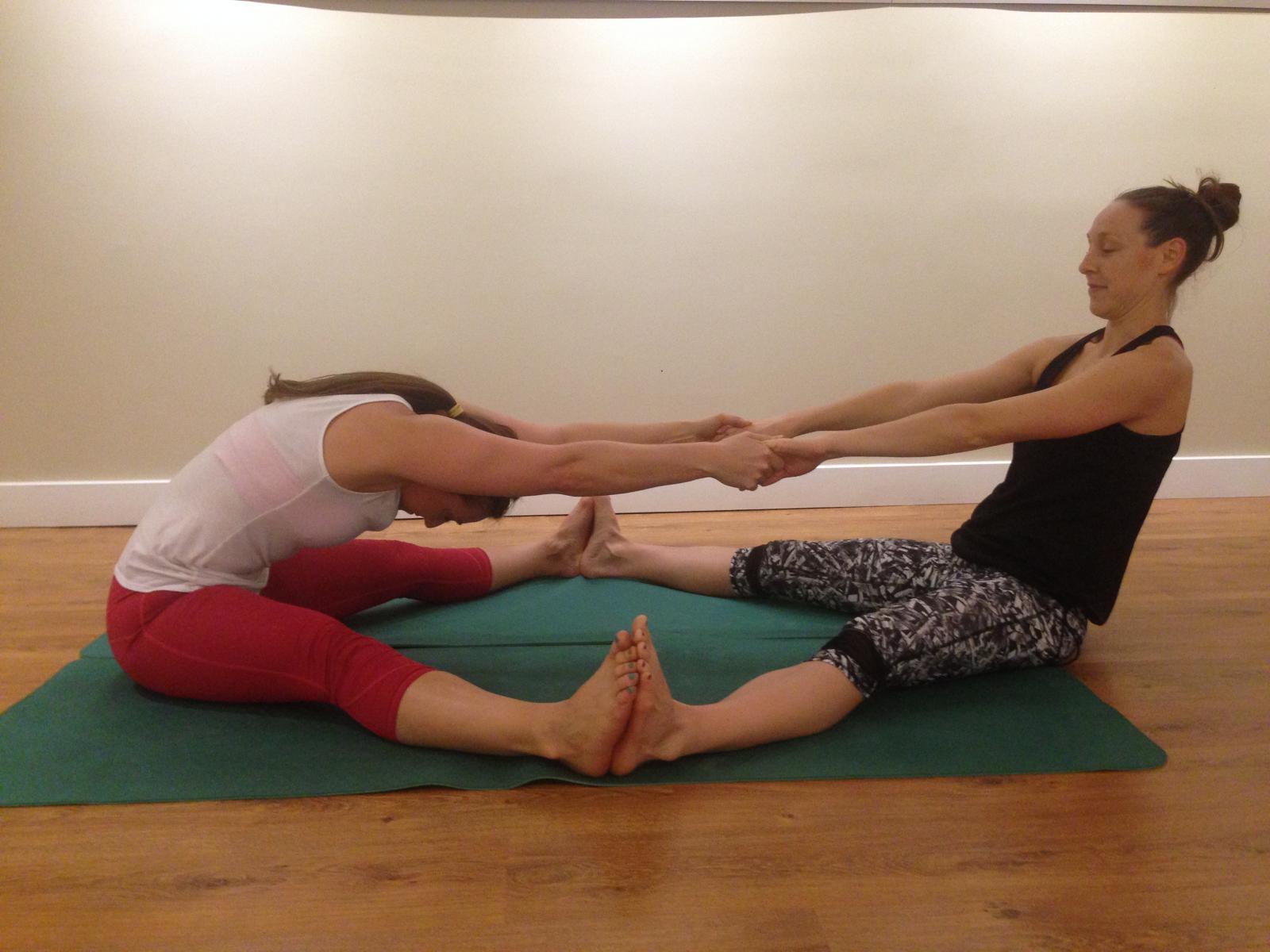 Teachers Notebook Partner Poses Yogafit Yoga Teacher Training