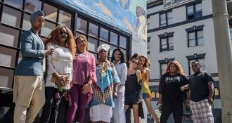 The Transgender District, the first legally recognized transgender district in the world, encompasses six blocks in the southeastern Tenderloin and crosses over Market Street to include two blocks of 6th Street.