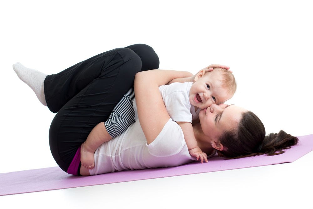 Mommy and Baby Yoga