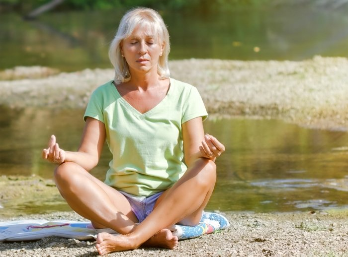 YogaFit for the Change: From PMS to Menopause